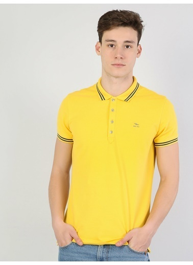 Colin's Slim Fit Polo Yakatişört Sarı